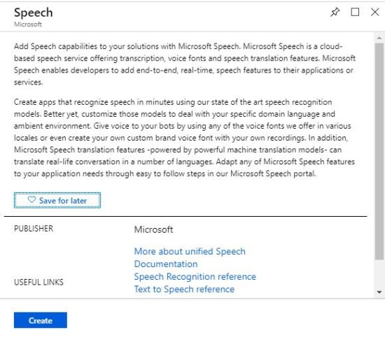 Cognitive Services: Convert Text to Speech in Multiple Languages