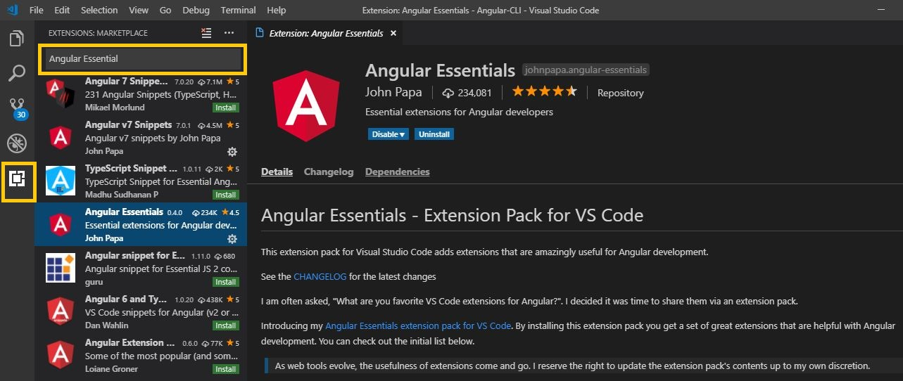 Getting started with Angular 6 using Angular CLI – Part 1